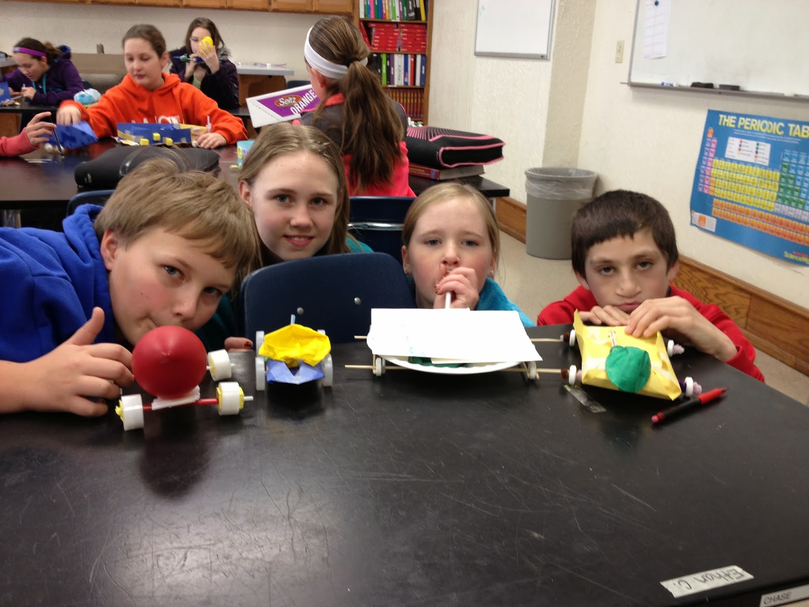 Successful Science 6th Grade Demonstrating Newton S 3rd