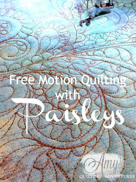 paisley quilting design