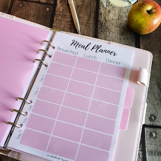 Pink Slimming World Weight Loss Diary, Food Diary planner
