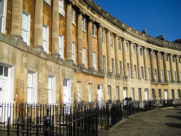 Royal Crescent Bath Architecture