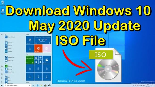 download windows 10 pro 2004 may 2020 update iso file - qasimtricks.com