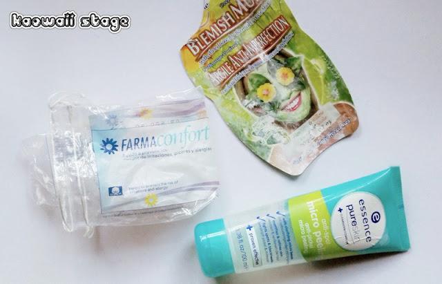 limpieza facial mascarilla algodón