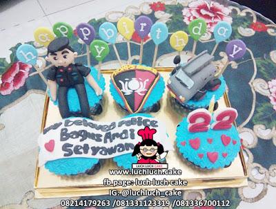 Cupcake Polisi Brimob