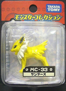 Jolteon Pokemon figure Tomy Monster Collection MC series