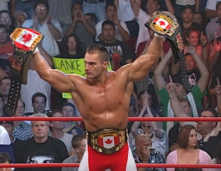 WCW New Blood Rising 2000 -  Lance Storm and all his titles
