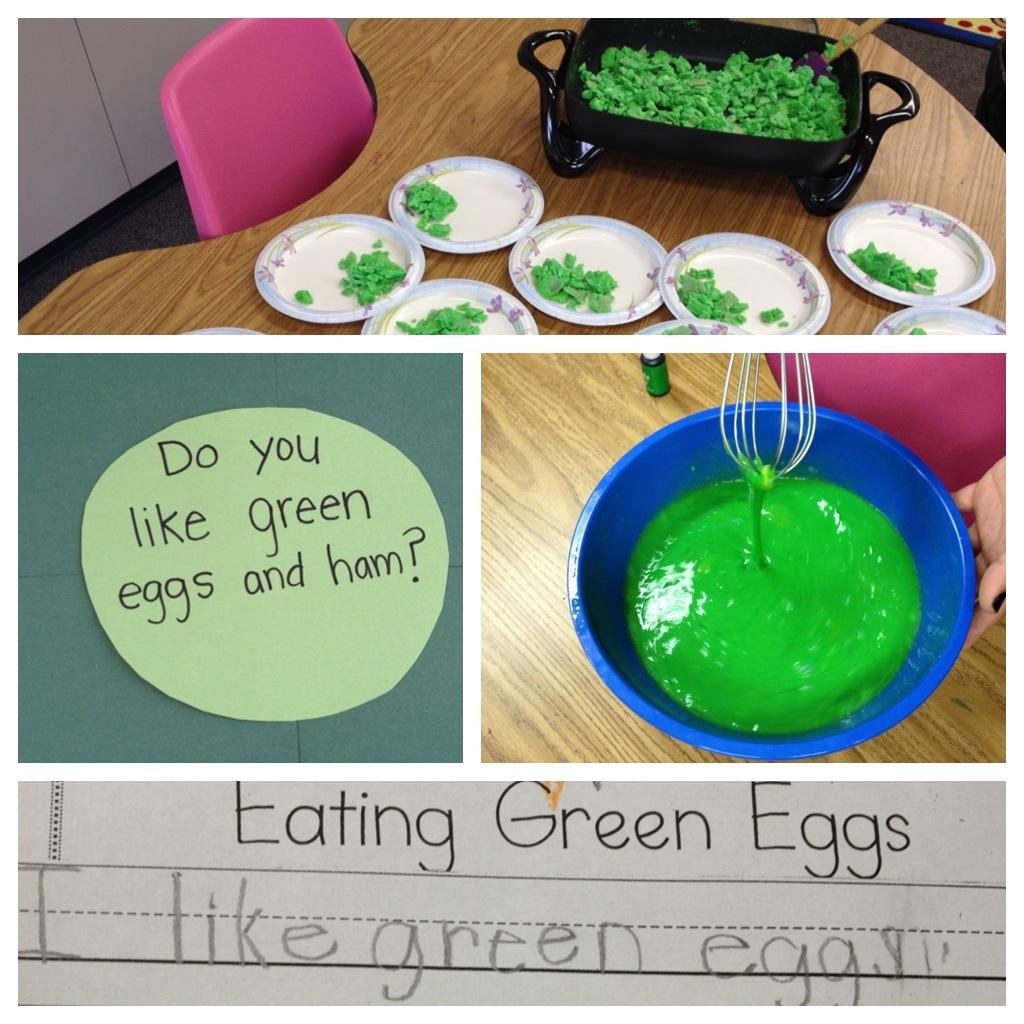 Green Eggs And Ham In Class