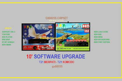 10 Software T21 Merpati & Komodo - New Skins GX6605s