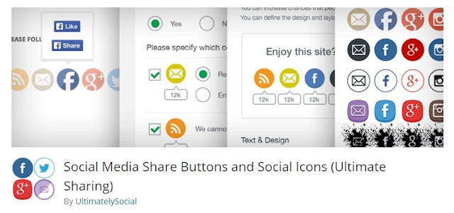 Ultimate social share plugins