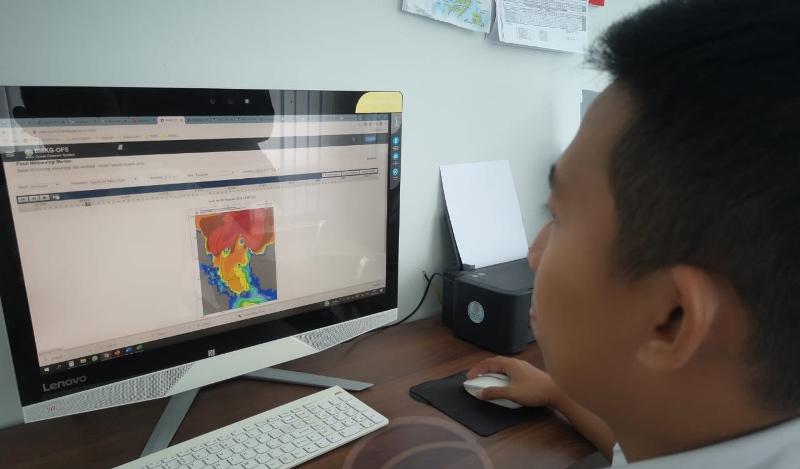 BMKG Tanjungpinang Imbau Waspadai Ketinggian Gelombang Perairan Kepri