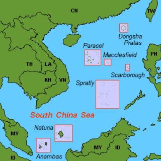 peta letak pulau natuna