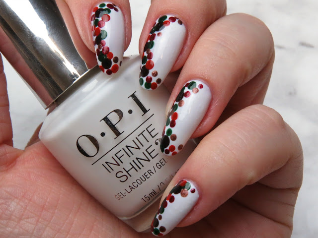 Fall Inspired Nail Art Manicure Easy Thanksgiving Nail Art Design