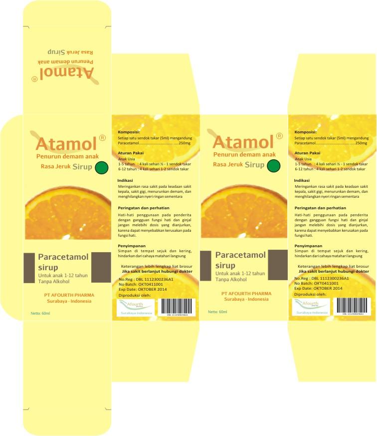 Sensasi Rasa Jeruk Semester 5 Packaging Design