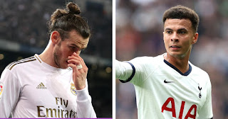 Real Madrid has never think of exchanging Gareth Bale for Dele Alli