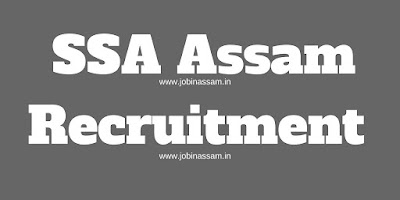 ssa assam recruitment 2018