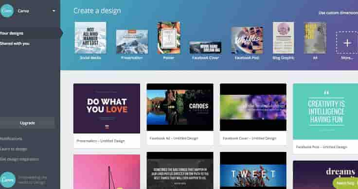 canva best image editing site