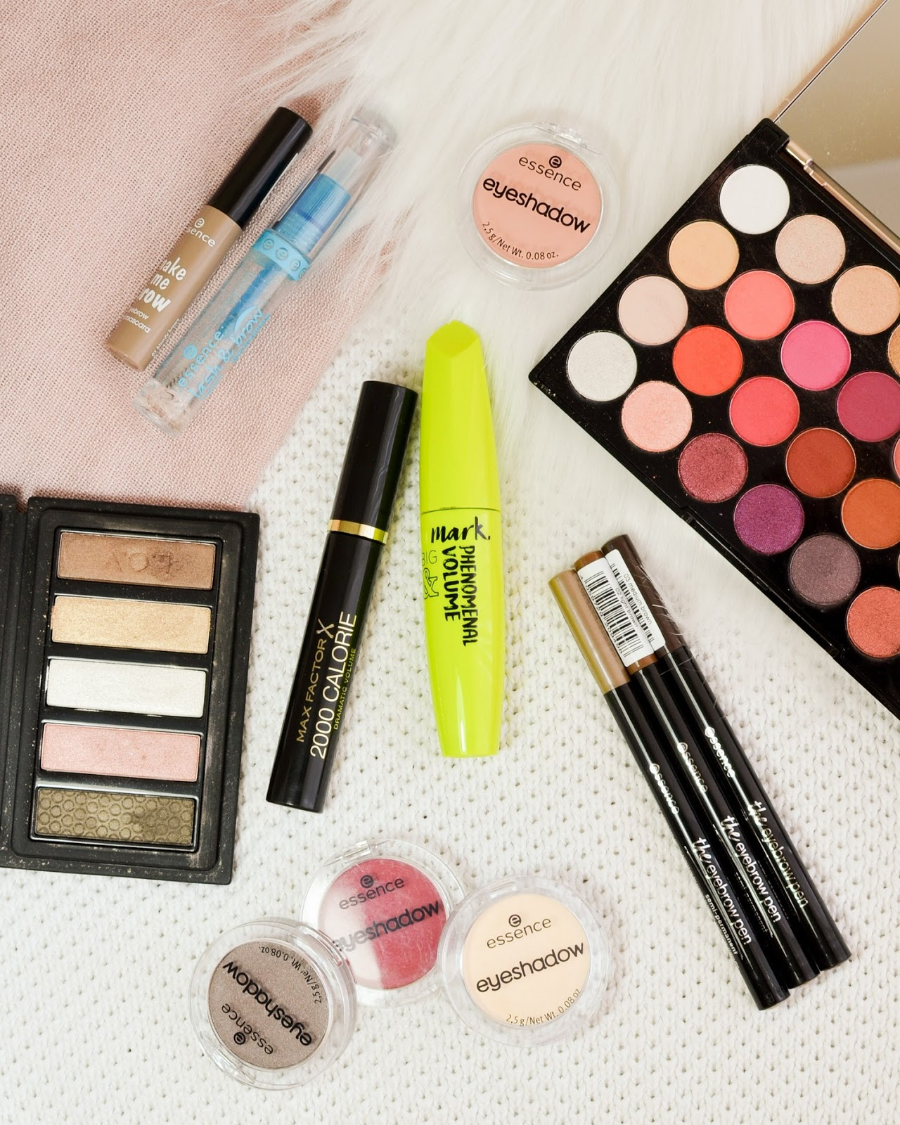Makeup Declutter 2019 Part 1 (Eyes and Brows)