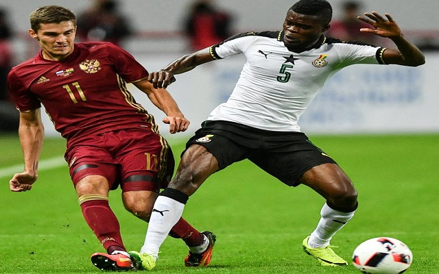 Statistics reveal Ghana were better than Russia despite defeat