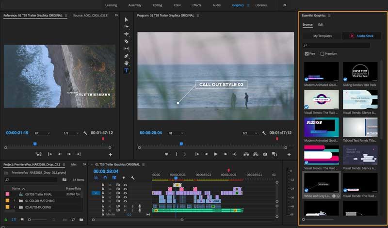 Screenshot Adobe Premiere Pro CC 2019 v13.1.5.47 Full Version