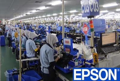 Lowongan Kerja Operator Produksi Min SMA SMK D3 S1 Semua Jurusan PT Epson Indonesia Industry