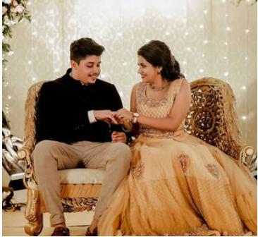 Alina Padikkal engagement photos