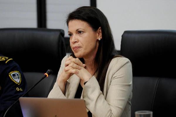 La ministra de Justicia y Paz Fiorella Salazar