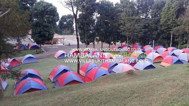 Paket Kemping Sekolah Bukit Hambalang Setul Bogor