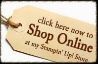 Shop for Stampin' Up! on line NOW