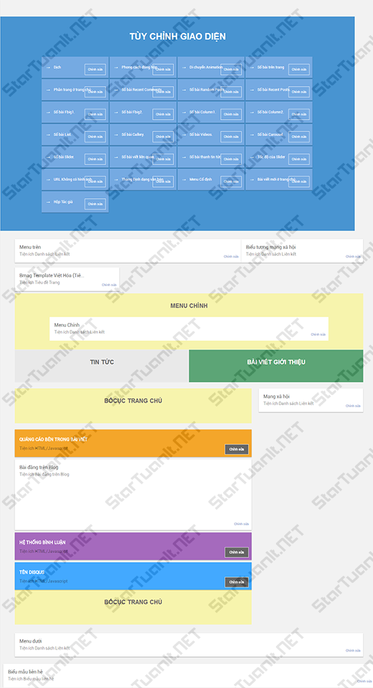 Template Bmag 2.0.3 fix theme options và việt hóa