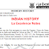 La Ex Indian History Class Notes PDF Download in English