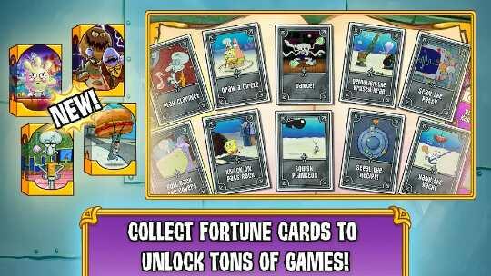 Game Spongebob'S Game Frenzy