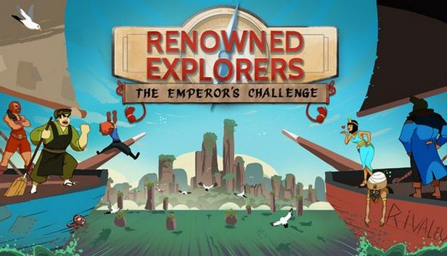 RENOWNED EXPLORERS THE EMPERORS CHALLENGE-PLAZA