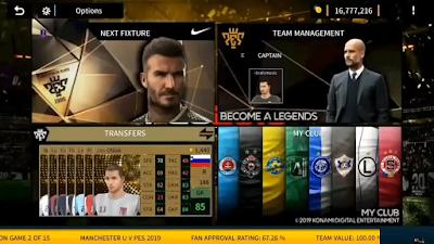 Dream League Soccer 2019 PES Legend Edition