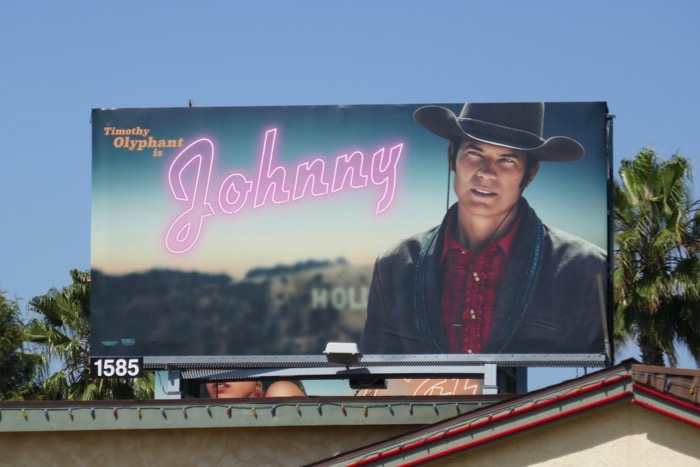 Timothy Olyphant Johnny Once Upon a Time in Hollywood billboard