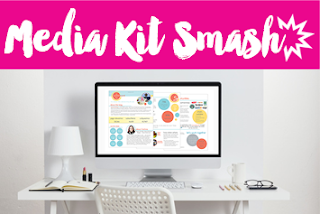 Media Kit Smash Workshop is a great way to create a professional looking Media Kit for your Blog or Brand