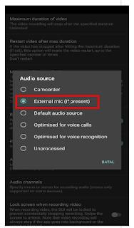 cara setting open camera di android