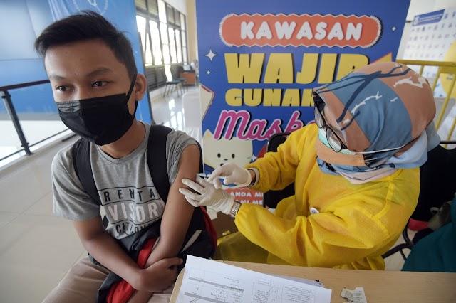 Capaian Sentra Vaksinasi BPBD Jabar di Kota Cimahi Mencapai 111 Persen