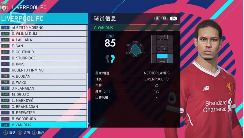 PES 2018 PC Option File V3 Transfers 21.1.2018 By Guji Lai