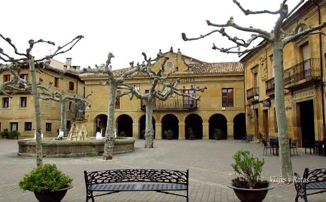 Plaza Mayor de San Vicente de la Sonsierra, La Rioja
