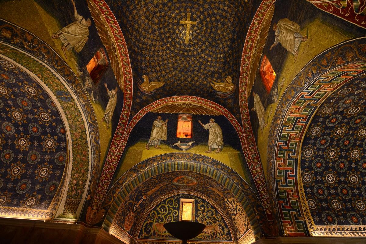 mausolée de Galla Placidia Ravenne