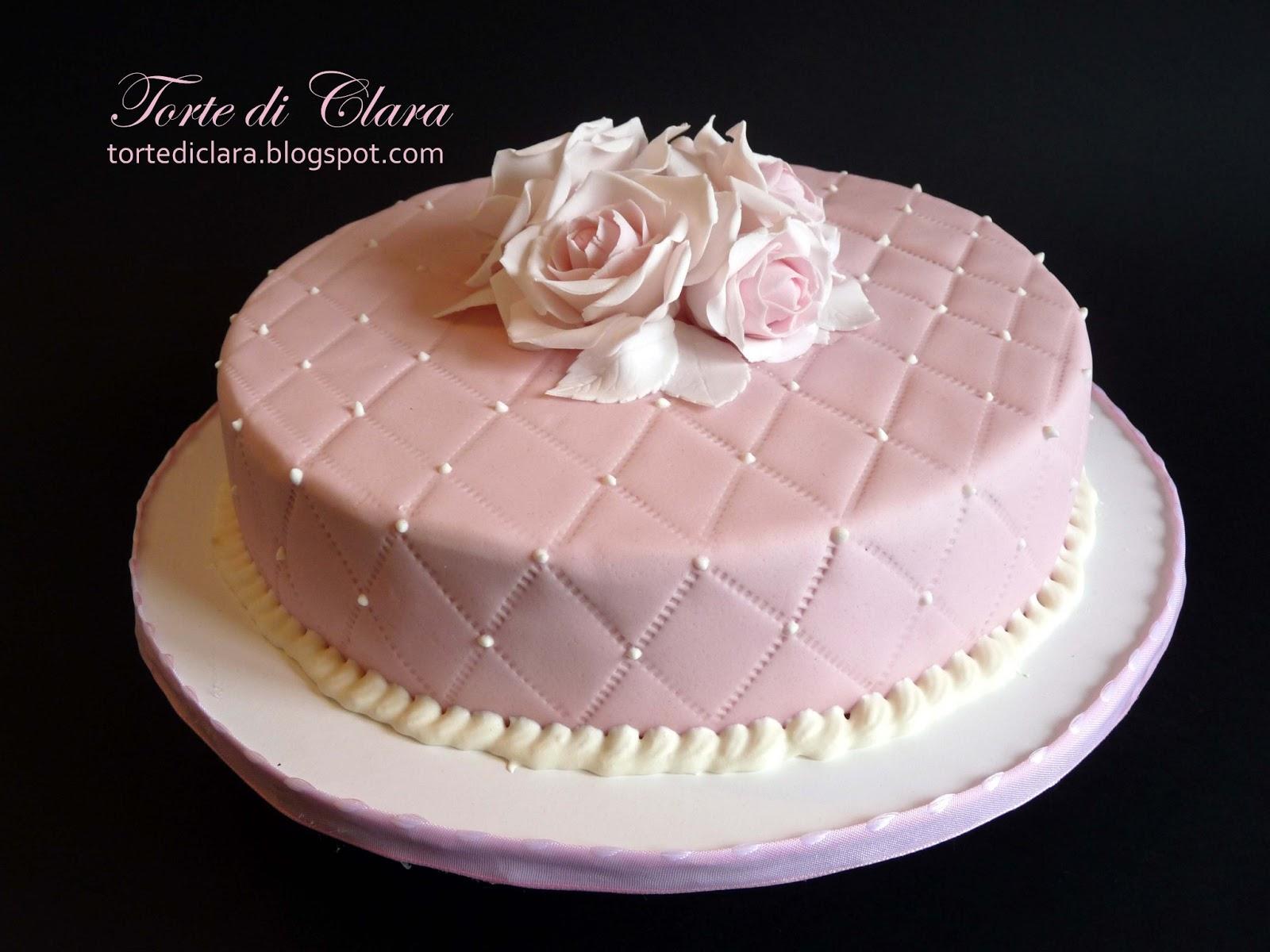 Torte Di Clara Rose Cake 7