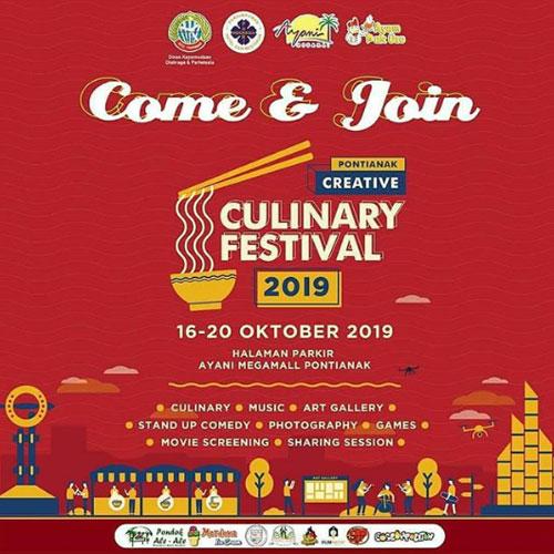 Pontianak Culinary Culinary Festival 2019
