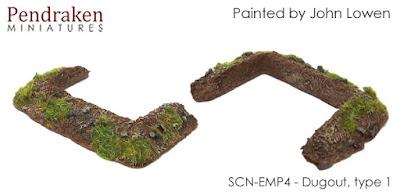 SCN-EMP4       Dugout, type 1 (x2)