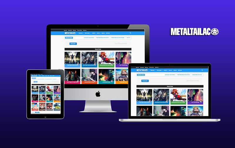 Metaltailaco Pro Responsive Blogger Template - Responsive Blogger Template