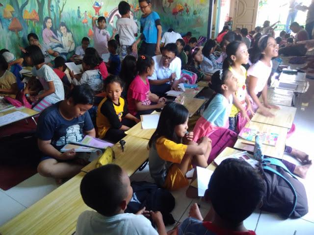Saturday Academy at HOPE Worldwide Indonesia
