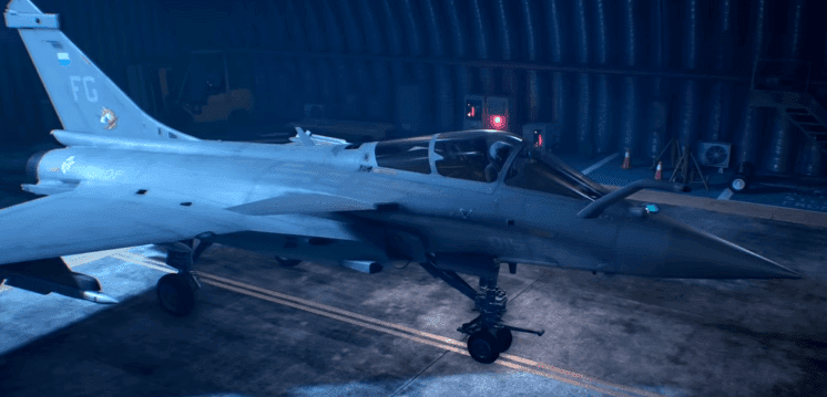 Ace Combat 7: Skies Unknown Aircraft Rafale M Introduction Trailer