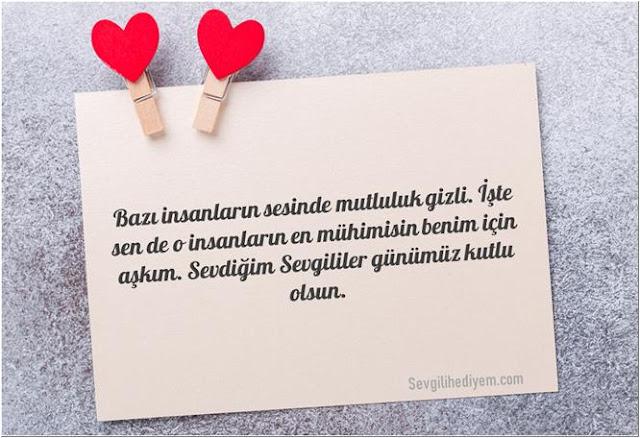 sevgililer günü mesajları