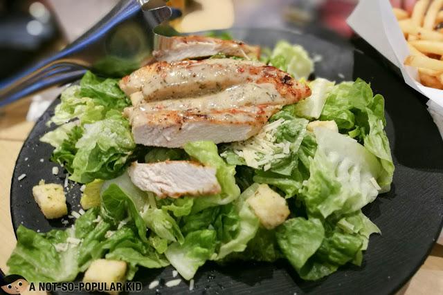 Chicken Caesar Salad of Buffalo Wild Wings