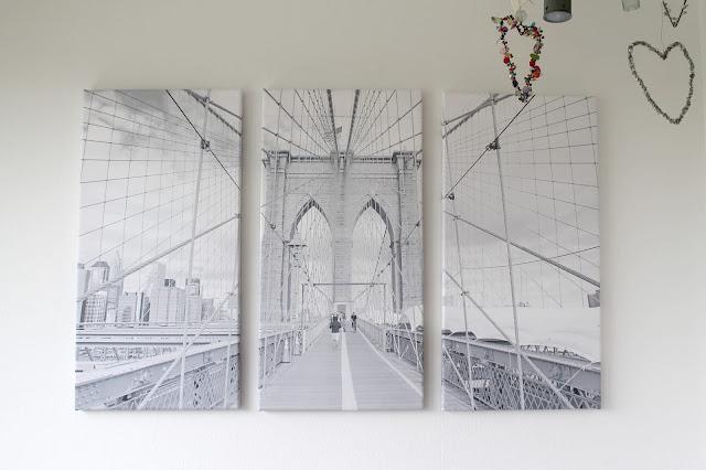 New York Motiv Pixers Ecke Wohnzimmer nachher Jules kleines Freudenhaus