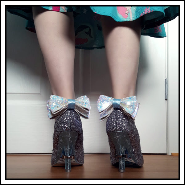 wearing irregular choice light up shoes