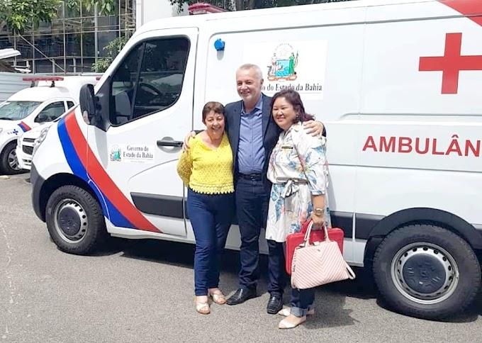 Município de Itiúba ganha uma Ambulância fruto de Emenda do Deputado Bobô!